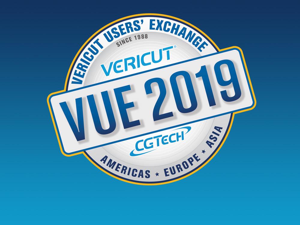 VUE 2019<br>Venite a scoprire gli ultimi sviluppi di VERICUT, incontrare altri utenti e condividere le vostre idee con noi